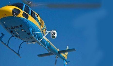helicóptero radar