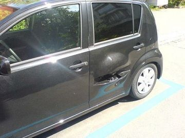 coche radar camuflado