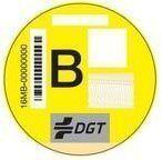 distintivo ambiental categoría B DGT