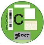 distintivo ambiental categoría C para vehículos