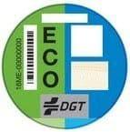 distintivo ambiental eco para vehículos