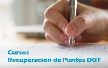 Cursos recuperación puntos en Cáceres