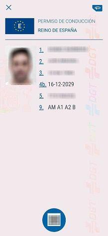 carnet de conducir aplicación móvil dgt