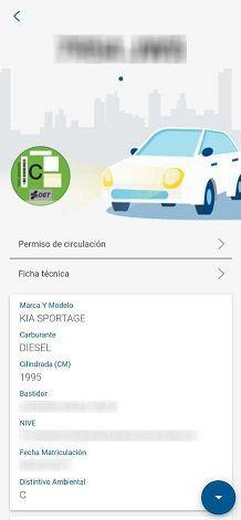 documentación del vehículo aplicación dgt