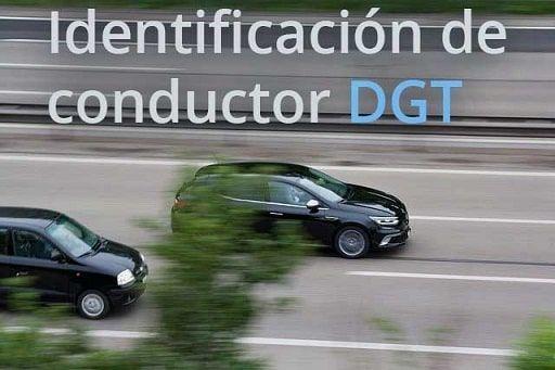 dgt identificación de conductor